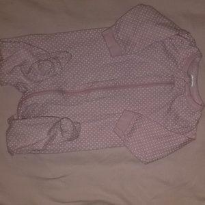❤3-6mo footie pajamas
